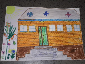 dessin maison Yakhya